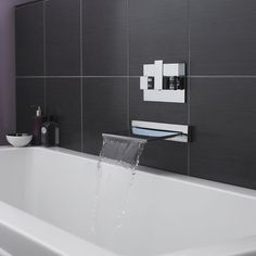Shower/Tub Waterfall Filler - Wall Mounted Faucets - Faucets