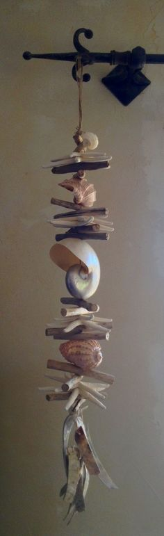 Driftwood garland More driftwood wind chime ideas. Maui Real Estate Guru #MauiRealtor