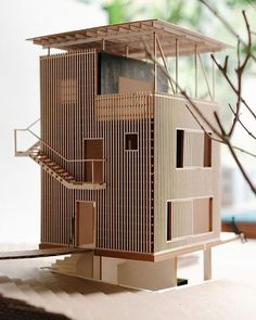 Big Thanks to @amazing.architecture for suggesting this cute model of an ideal…