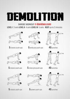 Demolition Upperbody Workout