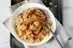 Slow-Cooker Butternut Squash Curry | Kraft What's Cooking Slow Cooker Recipes, Cooking Recipes, What's Cooking, Crockpot Meals, Butternut Squash Curry, Squash Vegetable, Gluten Free Rice, Kraft Recipes, Cooking Instructions
