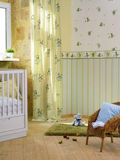 Esprit Home Wallpaper 109217 Esprit Home, Kids Room, Curtains, Design, Furniture, Color, Home Decor, Environment, Flooring