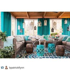 Now we're torn: the HGTV Spring House outside living room is just as amazing as the inside living room. Where would you spend your Saturday? #Repost @bpatrickflynn: HGTV Spring House 2016: the outdoor living room @rusticwhite @hgtv