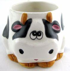 Small Holstein Cow Coffee Mug