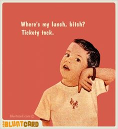 This may be my favorite blunt card... hahahaha.... @Tiffany Eubanks Peek hahahahaha