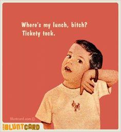This may be my favorite blunt card... hahahaha.... @Tiffany Eubanks Peek hahahahaha