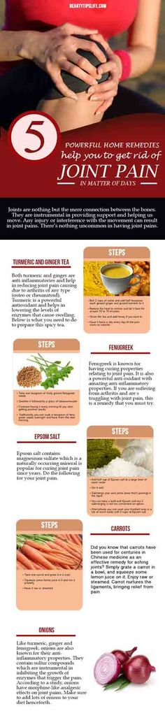 These 5 Powerful Home Remedies Help You To Get Rid Of JOINT PAIN Just In Matter…