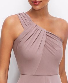 One Shoulder Jersey Dress Cute Dresses, Beautiful Dresses, Formal Dresses, Dance Dresses, Blouse Styles, Blouse Designs, Fashion Sewing, Classy Dress, Mode Style