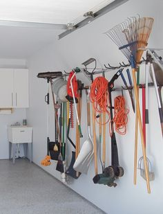 Scratch Proof And Able To Store All Of Your Yard Care Tools, This Rack Is