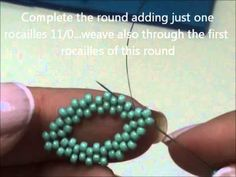 Video Tute: Leaf earrings..in Italian with English subtitles #seed #bead #tutorial