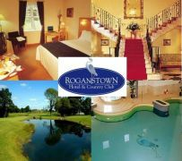 €115 instead of €230 for 2 people to enjoy B, 3 course meal, wine and much more at The Roganstown Hotel & Country Club, Dublin!