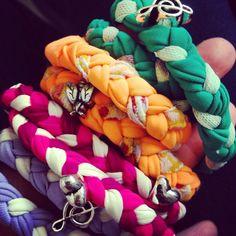 Bracciali colorati con charms, by Briciole, 5,00 € su misshobby.com