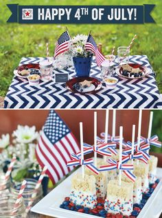 Rustic 4th of July Party- this blog has great ideas for a fun and simple 4th get together (plus a ton of other theme parties!)
