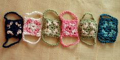 granny square rings