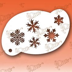 Snowflakes Five Cricut Stencils, Custom Stencils, Face Painting Stencils, Glitz And Glam, Stenciling, Homemade Crafts, Watercolors, Shadows, Snowflakes
