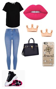 """Untitled #220"" by teamfyb on Polyvore featuring River Island, Mminimal, Casetify and Lime Crime"