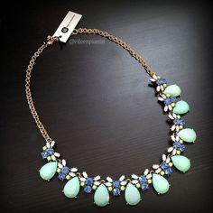 c07168840 Stitch Fix Bay to Baubles Valeria Teardrop Gemstone Necklace in mint $34  www.stitchfix.