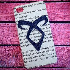 "HANDMADE ""The Mortal Instruments"" Inspired Case . . iPhone iPod Phone Android Samsung Galaxy Phone Cases MADE BY HAND TheSorcerersPhone . . FOLLOW @TheSorcerersPhone on Instagram!"
