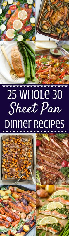 25 Easy Whole 30 Sheet Pan Dinner Recipes