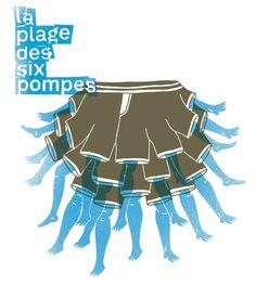 La Plage de Six Pompes Events, Movies, Movie Posters, Art, Pump, Happenings, Films, Art Background, Film Poster