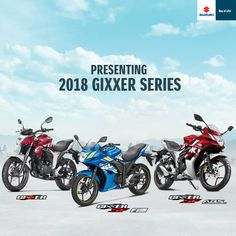 Presenting the all-new Gixxer 2018 series, for those who like to own the roads. #SuzukiGixxer2018  #Kannur  #Kasargod  #KannurSignature  #kasargodSignature