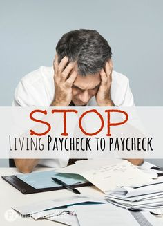 That vicious circle that seems so hard to break. Payday arrives, you pay all your bills, spend a few dollars and then you are broke again until your next paycheck, and then you repeat it all over again. It can be overwhelming and depressing to live like this, but as difficult as it may seem, you can break the paycheck to paycheck cycle.