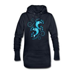 Stylowoodziani | Delfiny - Długa bluza z kapturem Hoodies, Sweatshirts, Skinny, Shop, Sweaters, Fashion, Moda, Fashion Styles, Pullover
