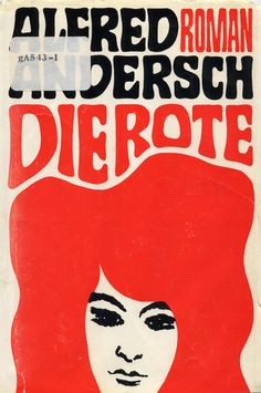 cover of 'die rote' (designer unknown)