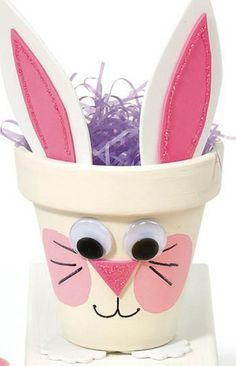 Easter is right around the corner and what better way to celebrate than to make bunny crafts. Here is a list of 60 DIY projects you can try with your kids. activities for adults ideas 60 DIY Bunny Crafts You Can Make for Easter Easter Crafts For Adults, Bunny Crafts, Easter Crafts For Kids, Easter Ideas, Egg Crafts, Flower Pot Crafts, Clay Pot Crafts, Flower Pots, Easter Art