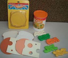 Vintage Fisher Price Fun With Food Soup and Sandwich Set