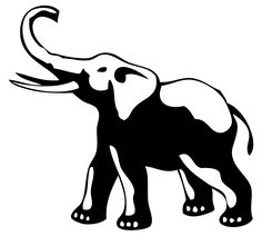 elephant tattoo | Ideas for tatooing elephant, elephant head and tribal elephant tattoo.