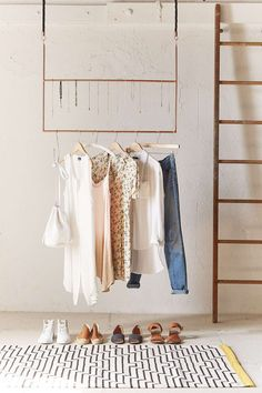 Whether placing it outside your closet or inside, the garment rack can serve so many great purposes to keeping you organized. It also enhances interior style while providing a great solution …