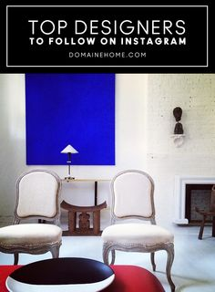 The most inspiring interior designers to follow on Instagram.