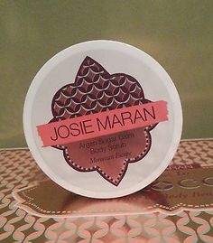 Body Scrubs and Exfoliants: Josie Maran Argan Sugar Balm Body Scrub Moroccan Escape 4.4 Oz New! BUY IT NOW ONLY: $59.99