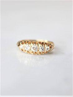 European Cut Vintage Diamond Ring | EVORDEN