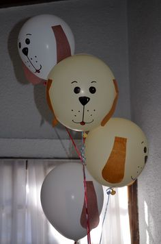 puppy party balloons