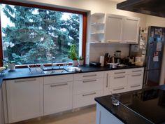 Modern konyha szigettel | NOR-KISZ Kft. Decor, White Kitchen, Kitchen Cabinets, Cabinet, Home Decor, Kitchen, White Modern Kitchen, White