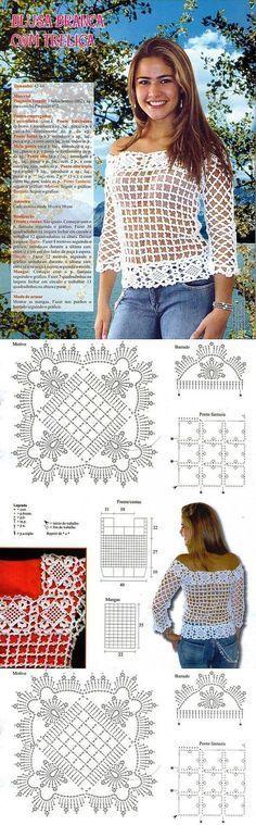 Crochet Tunic Pattern, Coraline'S Endles - maallure Débardeurs Au Crochet, Crochet Bolero, Crochet Tunic Pattern, Gilet Crochet, Crochet Shirt, Crochet Jacket, Crochet Stitches Patterns, Crochet Woman, Crochet Cardigan