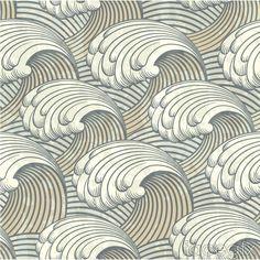 Retro wave pattern vector