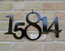 Street Address Numbers (Free Shipping)