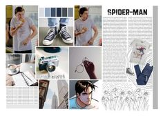 """""""Peter Parker/ Spider-Man"""" by soldiermaximoff ❤ liked on Polyvore featuring GET LOST, Oris, Marvel, Cheap Monday, Converse, men's fashion, menswear, Avengers, marvel and spiderman"""