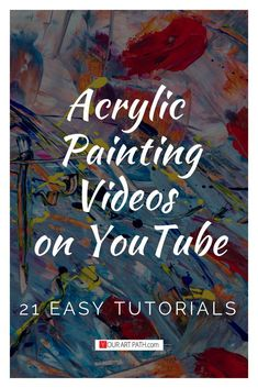 What is Your Painting Style? How do you find your own painting style? What is your painting style? Abstract Painting Techniques, Acrylic Painting Flowers, Acrylic Painting For Beginners, Simple Acrylic Paintings, Acrylic Painting Techniques, Beginner Painting, Painting Videos, Acrylic Painting Canvas, Painting Abstract