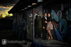 Engagement Session In The Arts District