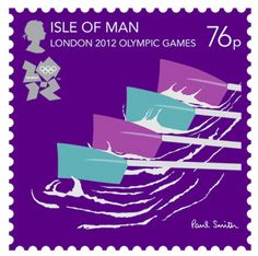 Postage, Olympic, Olympic Stamps, London Olympics, 2012 Olympics, London 2012, London 2012 Olympics, London 2012 Olympic stamps, sir paul smith, isle of man, rowing