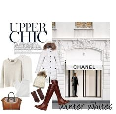 """""""Winter Whites"""" by heather-rae ❤ liked on Polyvore"""