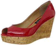 """STEVEN by Steve Madden Women's Favvorr Wedge Sandal STEVEN by Steve Madden. $70.70. This Shoe Fits True To Size.. Made in China. leather. Heel measures approximately 3.5"""". Platform measures approximately 0.25"""" . Man Made Sole. Rubber sole. Heel Height: 3 - 3.75 Inch. Leather Upper"""