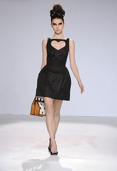 Luella little black dress Angus Thongs And Perfect Snogging, Luella Bartley, Dress For Success, Suit Fashion, Ready To Wear, Party Dress, Dress Up, Glamour, Couture