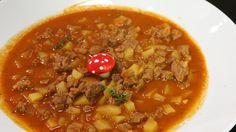 Rezept von Andreas Wojta   1 Stunde 15 Minuten/aufwendig Andreas, Chili, Soup, Goulash Soup, Weight Loss, Food Recipes, Chile, Chilis, Soups