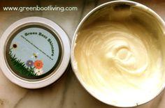 Handmade anti-wrinkle cream with rosehip seed oil