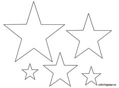 Pointed Star Shape  Free Printables Free Printable Shape